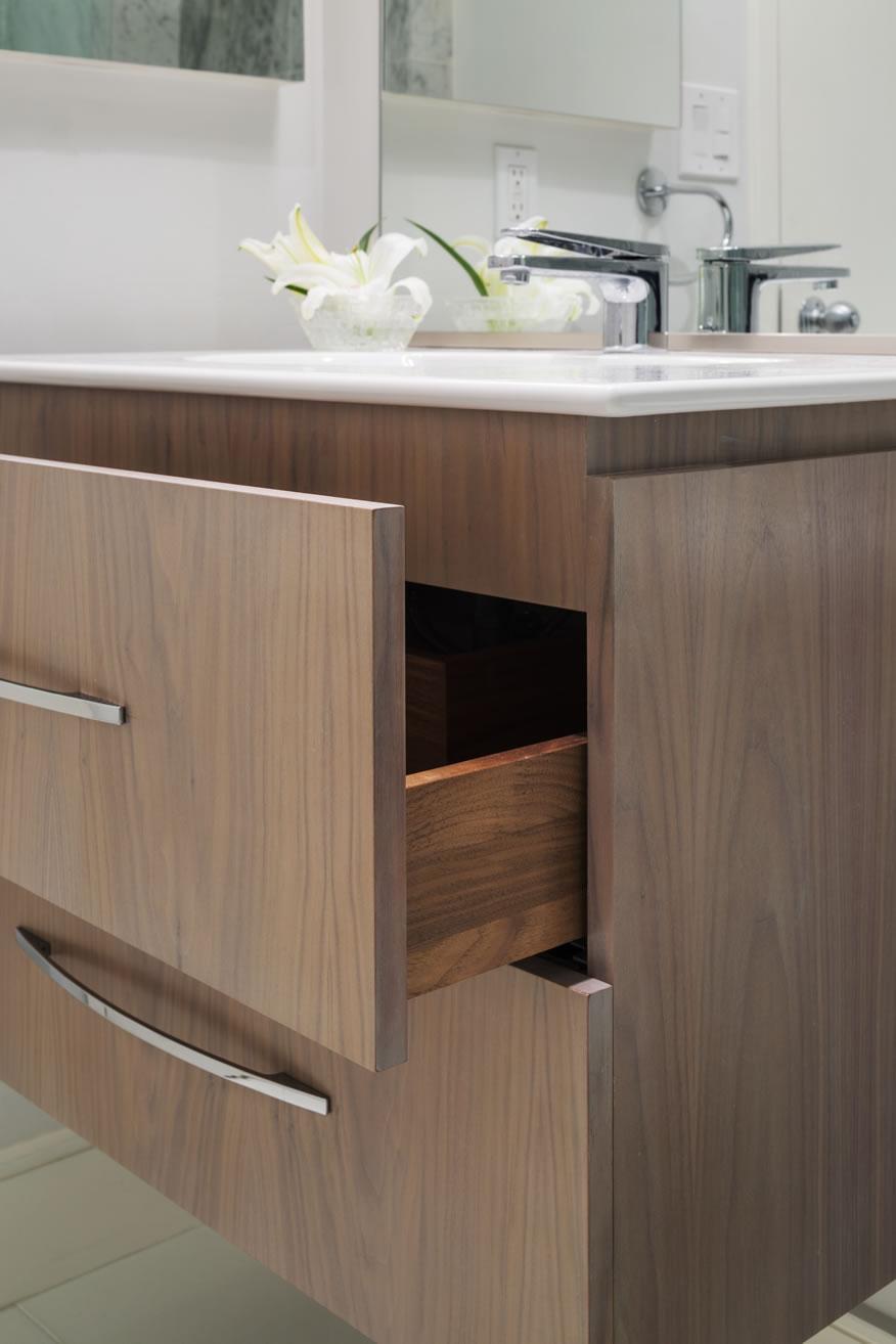 Newton Kitchens & Design - Beach Street - Guest Vanity